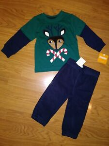 NWT Gymboree Infant Boys Outfit Size 12-18 Months Holiday ...