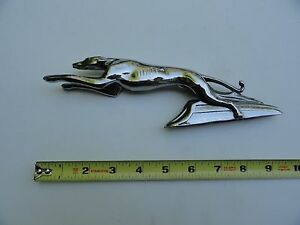 Greyhound Ford Lincoln 1934 1935 1936 auto car hood ornament mascot Repo?