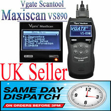 Vgate VS890 Maxiscan Hand Hold Fault Code Diagnostic Reader Scanner OBD2 CAN BUS