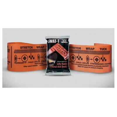SWAT-T Stretch Wrap and Tuck Multi-Purpose Tourniquet Save $ when buy 2 or 3 ..