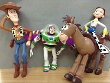 4pcs/set Anime Toy Story 3 Buzz Lightyear Woody Jessie Bullseye PVC