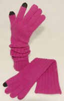 Rella - Pink - Soft & Warm - 100% Pure Wool Texting Gloves Sz S / M Tags