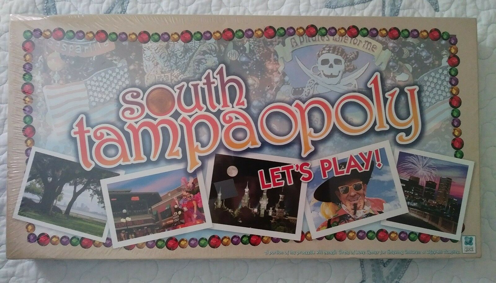 SOUTH TAMPAOPOLY Board Game RARE Tampa Collectible Monopoly Factory Sealed Promo