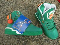 Patrick Ewing 33 Hi St. Patrick's Day Green Jellybean Mens Shoes Sneakers 5