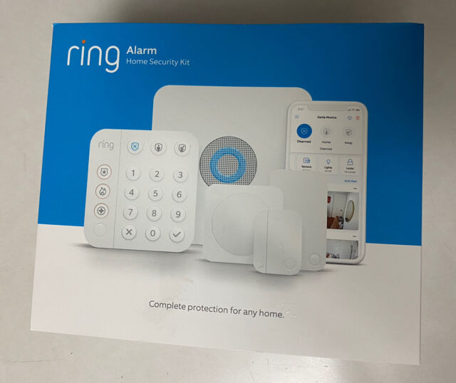 Ring Alarm Home Security System with optional 24/7 Monitoring - 5 piece kit