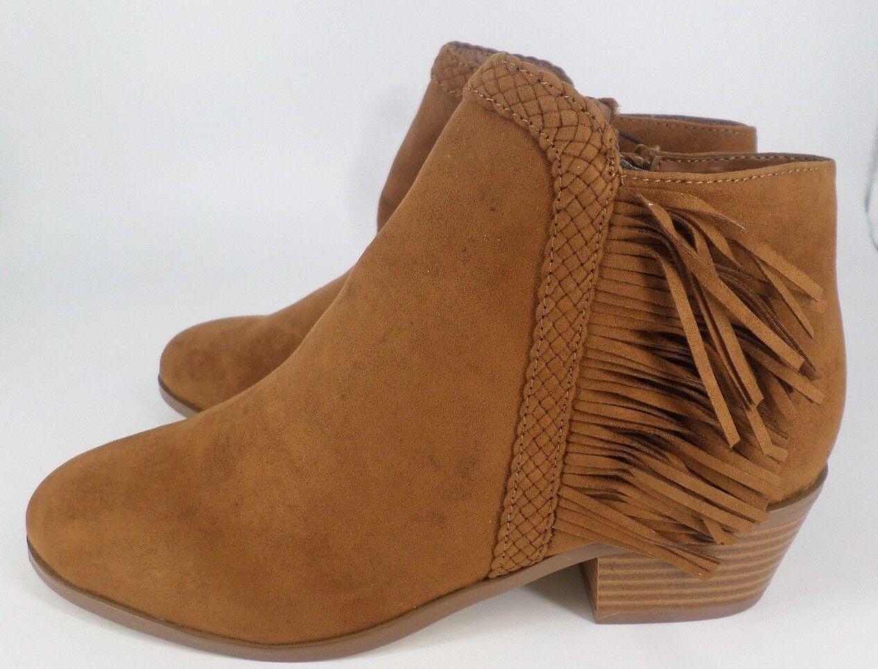 ROT Herring Suede Tassel Ankle Stiefel EU Tan Größe UK 4 EU Stiefel 37 NH086 CC 10 4c2a64