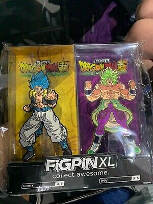 Funimation Figpin XL Gogeta /& Broly DBZ Dragon Ball Z 2 Pack SDCC 2019 Exclusive