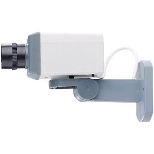 Visortech Berwachungskamera Attrappe Mit Motor
