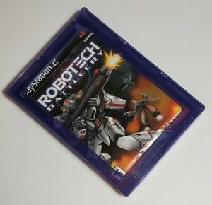 Robotech-Battlecry-Sony-PlayStation-2-2002-NEW-SEALED-with-Security-Case