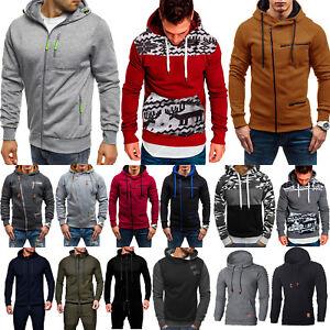 Men-Winter-Hoodie-Hooded-Sweatshirt-Pullover-Jacket-Coat-Outwear-Jumper-Sweater