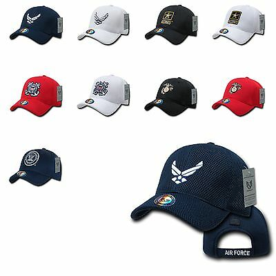 1 Dozen Army Air Force Navy Marines Police Cotton Baseball Hats Hat Caps Cap