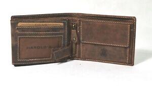 HAROLDS-Geldboerse-Portemonnaie-Leder-Brieftasche-5474