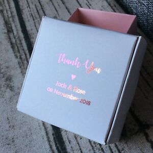 1-Sample-Blush-Pink-Foil-Wedding-Party-Favour-Boxes-Personalised-Gift-Candy-Box