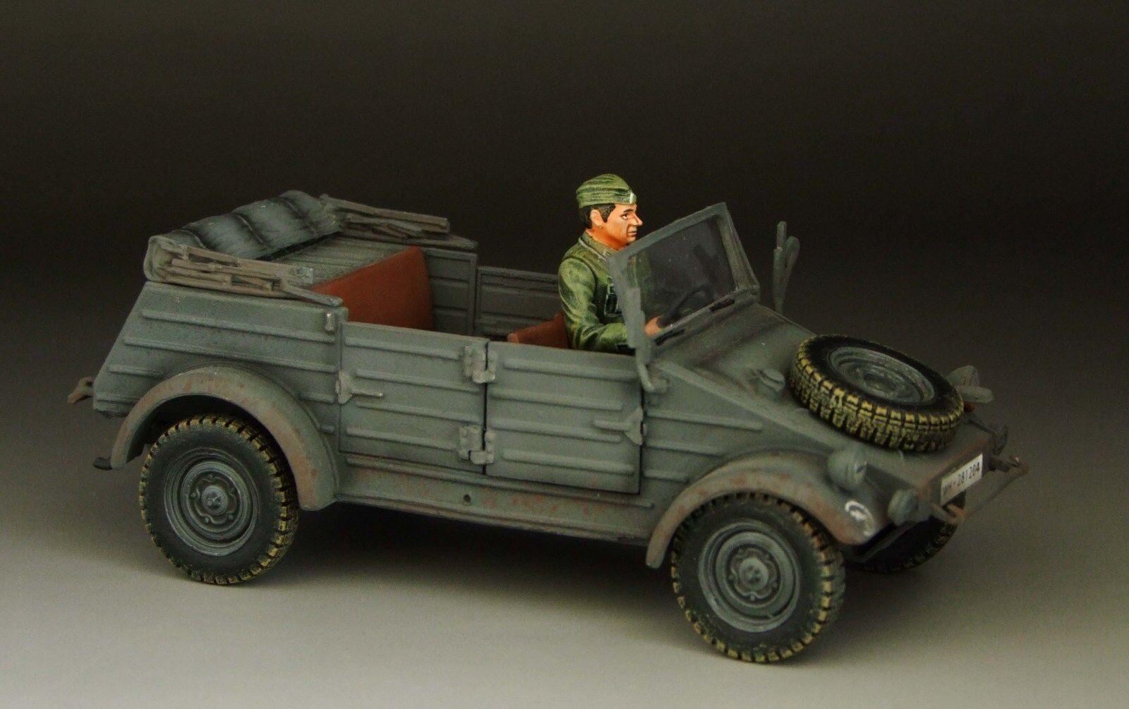1 30 WW2 German 82 type kubelwagen grey version EC009