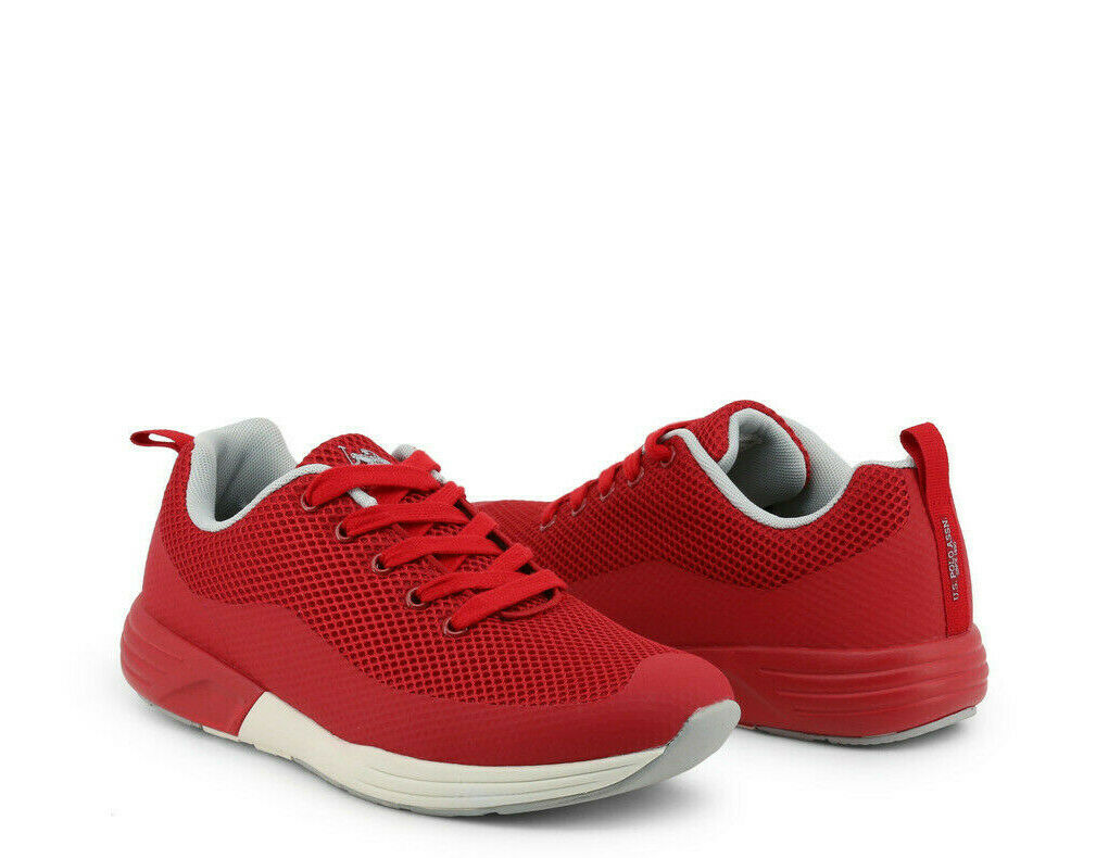 U.S. Polo Homme baskets-TAREL 4121S9-Rouge Lacets