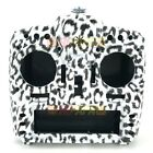 FrSky X9D Plus Taranis Radio Replacement Water Transfer Shell Case Snow Leopard
