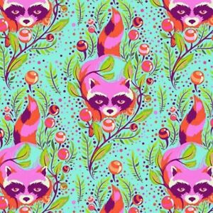 Free-Spirit-Tula-Pink-All-Stars-Poppy-Raccoon-PWTP037-Cotton-Fabric-BTY