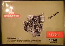 Deutz Motoren F4L 514 Ersatzteilliste