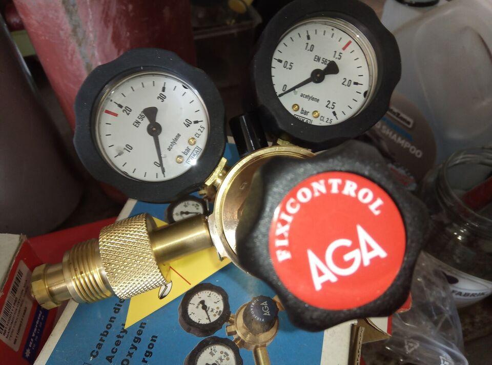 AGA skære / svejse sæt med Regulatorer