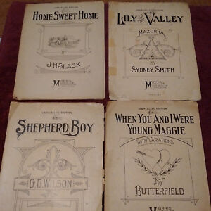 Details about Unexcelled Editions Sheet Music Lot 1926/1928 (6)