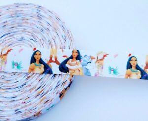 1-034-Disney-Pocahontas-Grosgrain-Ribbon-Pocahontas-Ribbon-By-The-Yard