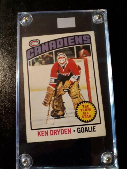 1976 MONTREAL CANADIENS GREAT KEN DRYDEN card 200