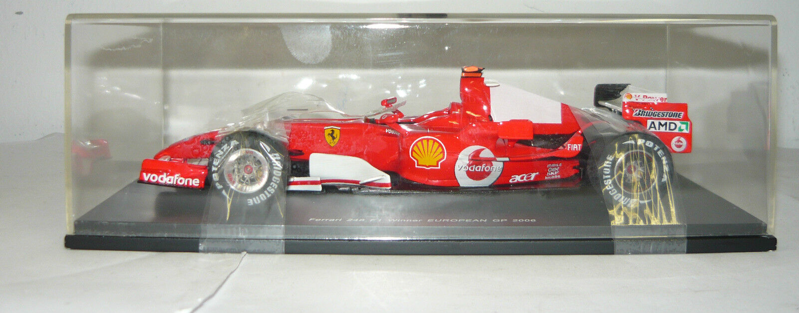 rossoline models 24rl007, ferrari 248 f1 gp2006, schumacher, 1 24, neu&ovp