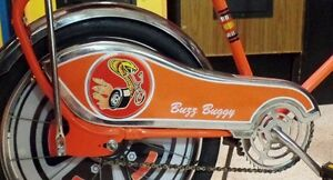 Western-Flyer-Buzz-Buggy-Banana-Muscle-Bike-Bicycle-CHAIN-GUARD-DECAL-STICKER