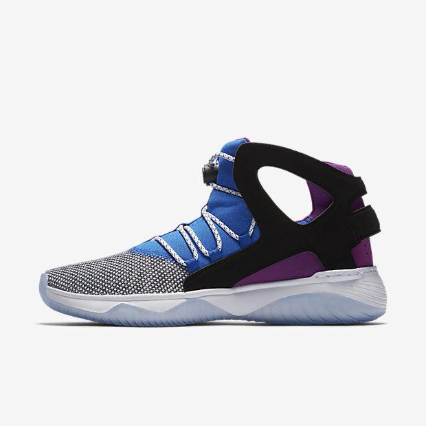 cd0f5f8f7b3 New Nike Men s Air Flight Huarache Ultra Shoes (880856-100) White Lyon Blue  142fbb