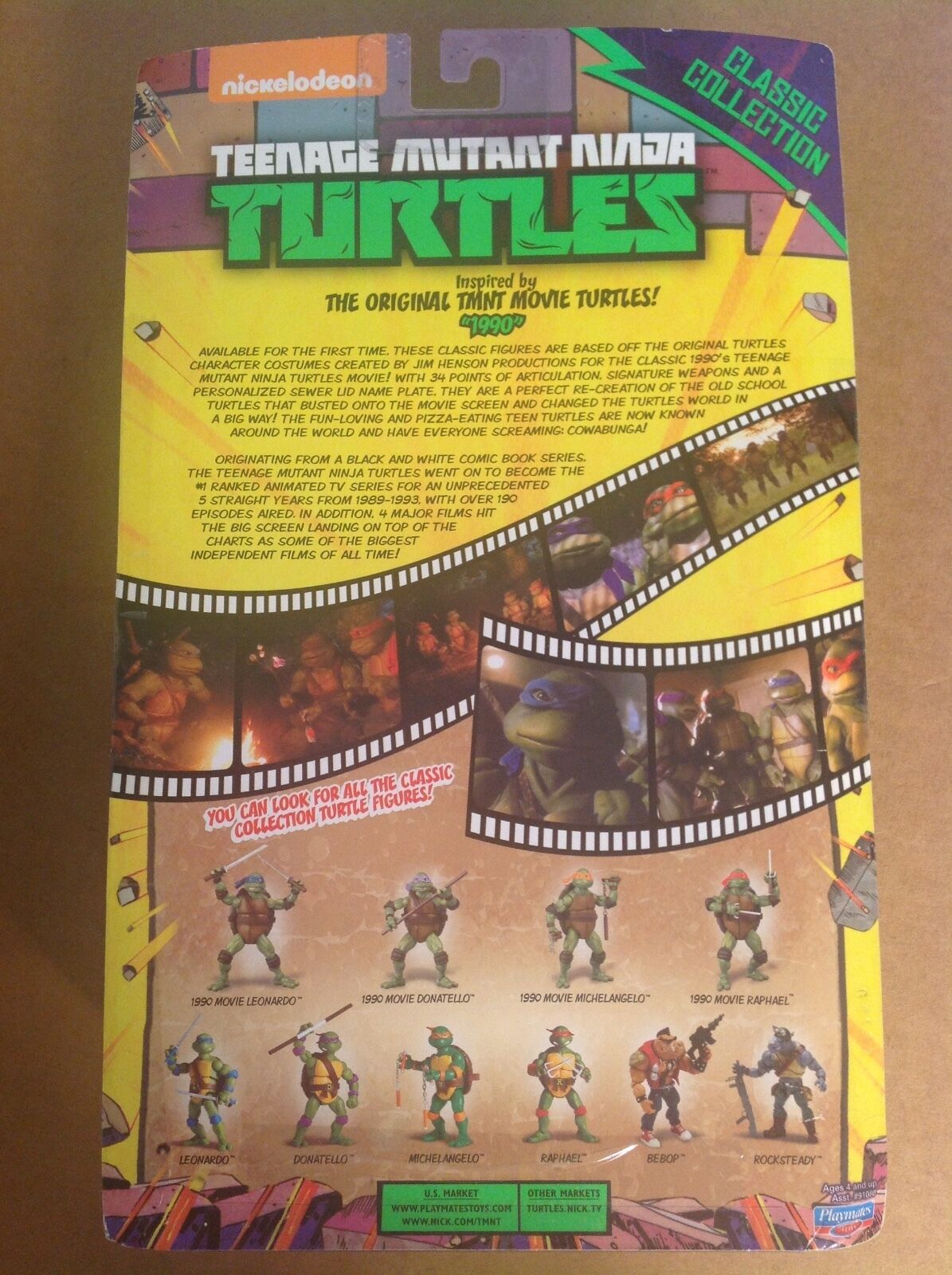 SDCC 2014 TMNT Classic Collection Michelangelo movie movie movie figure sealed MOC TMNT c8ca1f