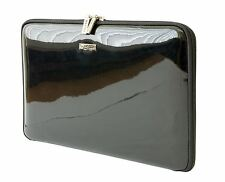 "AbChic 10-11"" Designer Laptop Sleeve also for 11"" Apple MB Air in Black Pattern"