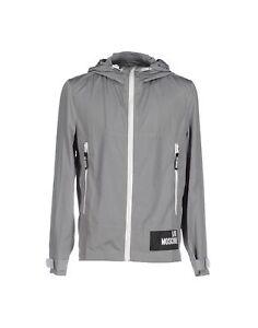 a Nuova cappuccio giacca It52 Xl Giacca Uk42 Moschino vento con Love 1THBwWq1z