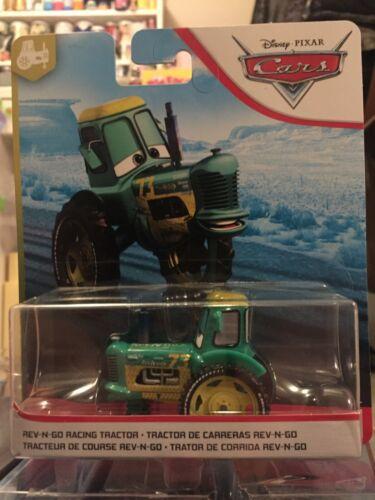 Disney Pixar Cars 3 Rev N Go Racing Tractor Mattel 1.55 Scale BNIB