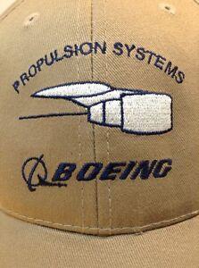 ab76343e0ec343 Image is loading RARE-BOEING-AVIATION-PROPULSION-SYSTEMS-Adjustable-Hat- Baseball-