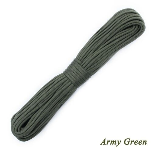 100ft 7 Strand 550 Paracord Parachute Cord Lanyard Mil Spec Type Survival Rope