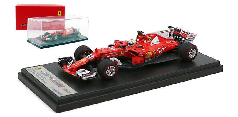 LOOKSMART LSF109 Ferrari SF70-H  5 2017 Monaco GP-Sebastian Vettel échelle 1 43