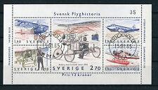 Svezia/Sweden 1984 bf 12 storia aviazione svedese usato