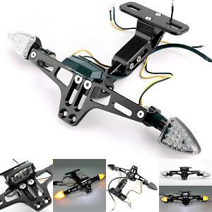 LED-Licht Motorrad Kennzeichenhalter Nummernschildhalter