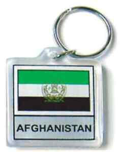 Burkina Faso Flag Key Chain NEW