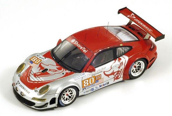 Porsche 997 Gt 3 Rsr  80 Lm 2010 1 43 Model SPARK MODEL
