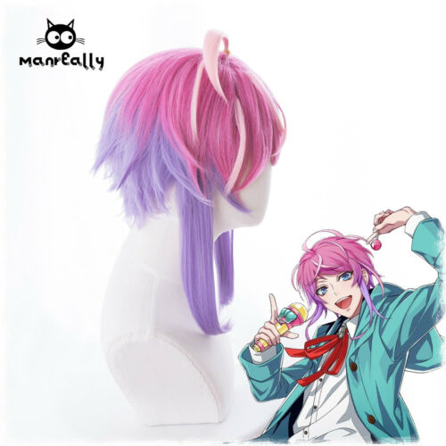 Division Rap Battle DRB Hypnosis Mic Amemura Ramuda Anime Wig mixed color