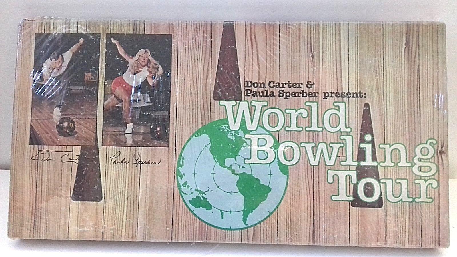 VTGNOSSEALED World Bowling TourBoard Game Don Carter & Paula Sperber 1979