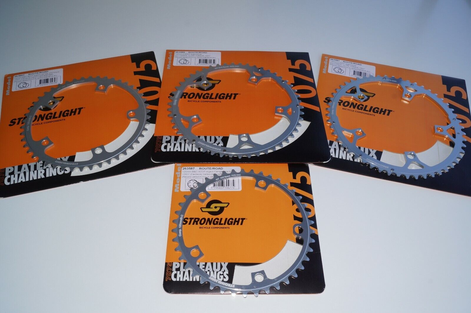 Stronglight Zicral Campagnolo Fit Chainring 135 BCD 42 46 50  52T 10 9spd 5-Bolt  offering store