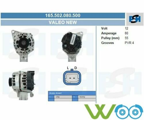 Original Valeo Lichtmaschine Generator  NISSAN MICRA 3 C+C NOTE  165.502.080.500