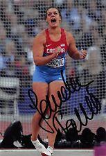 Sandra Perkovic - CRO - Leichtathletik - Olympia 2016 - GOLD - Foto sig (1)