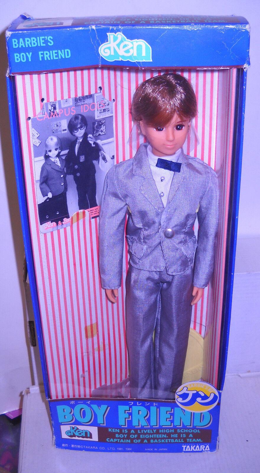 En Caja Original Takara Japón's Boy amigo Ken muñeca Barbie tema extranjeros