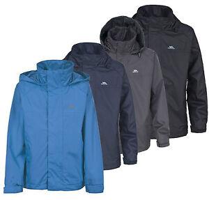 119d8fd0a Trespass Nabro Boys Waterproof Jacket 2 - 12 yrs Kids School Coat ...