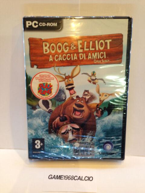 BOOG & ELLIOT A CACCIA DI AMICI VIDEOGAMES (PC) NUOVO SIGILLATO