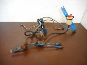 Ford 4600 4610 5000 5600 6600 7000 7600  County Roadless battery clamp tractor