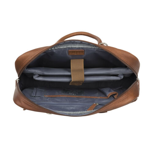 Briefcase Bugatti Aktentasche Notebooktasche Leder Sartoria Businesstasche nqxH4f